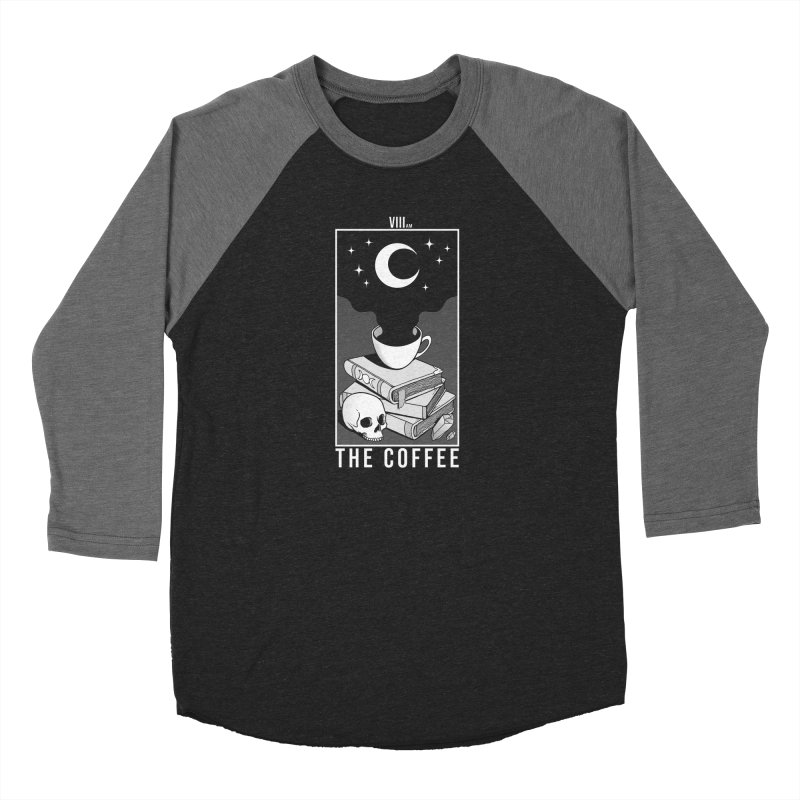 The Coffee Women's Baseball Triblend Longsleeve T-Shirt by Deniart's Artist Shop