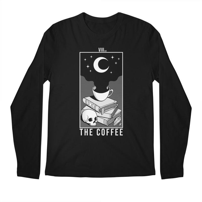The Coffee Men's Regular Longsleeve T-Shirt by Deniart's Artist Shop