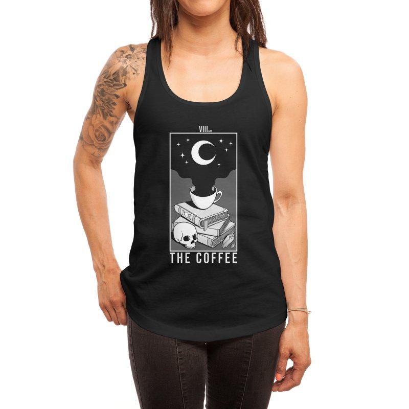 The Coffee Women's Tank by Deniart's Artist Shop
