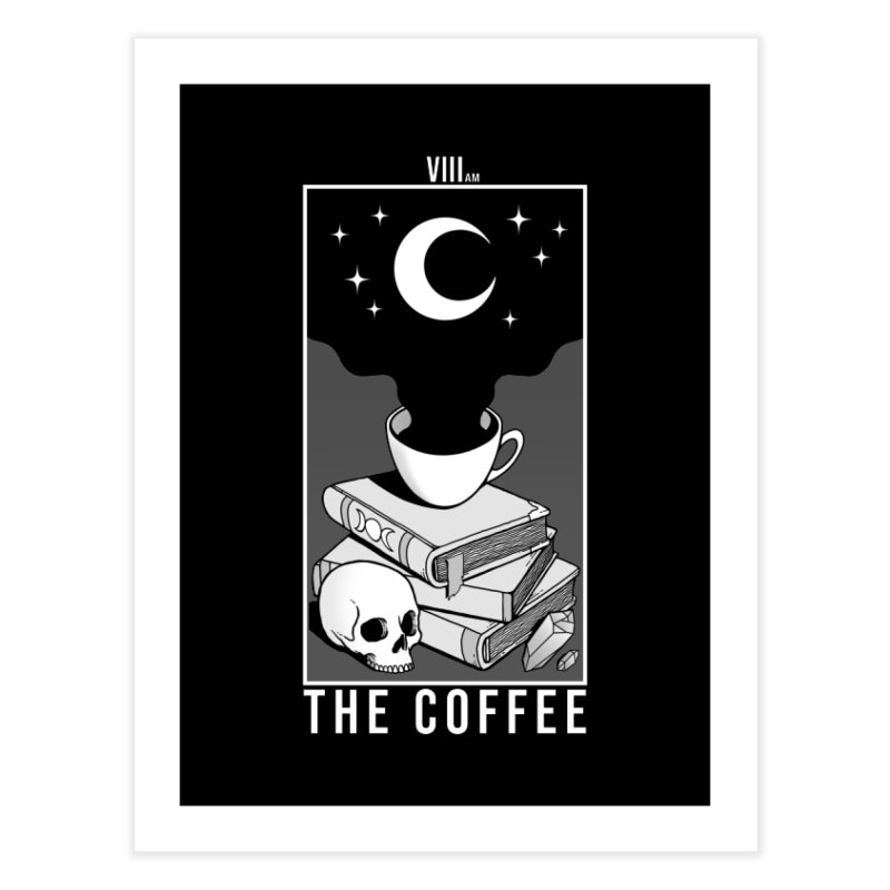 The Coffee Home Fine Art Print by Deniart's Artist Shop