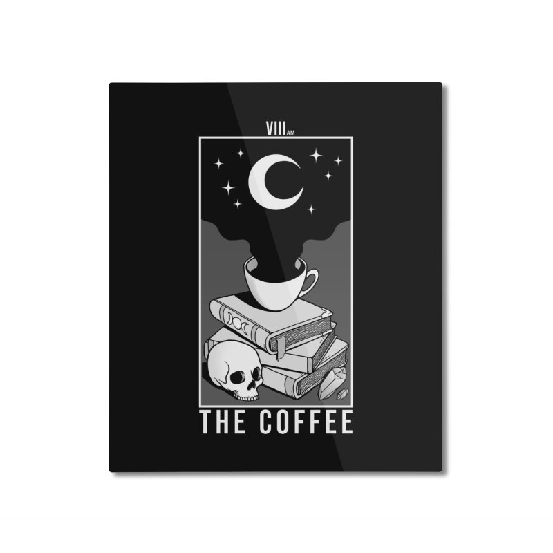 The Coffee Home Mounted Aluminum Print by Deniart's Artist Shop