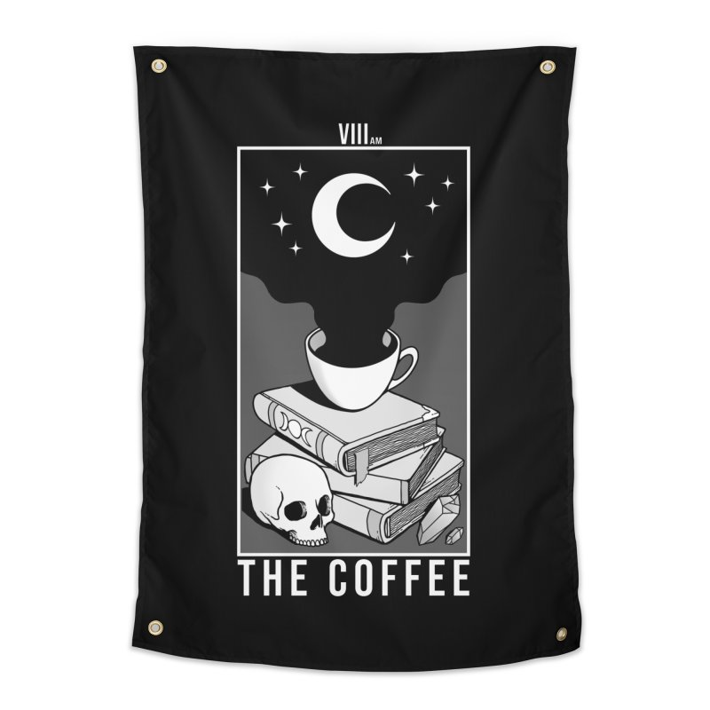 The Coffee Home Tapestry by Deniart's Artist Shop
