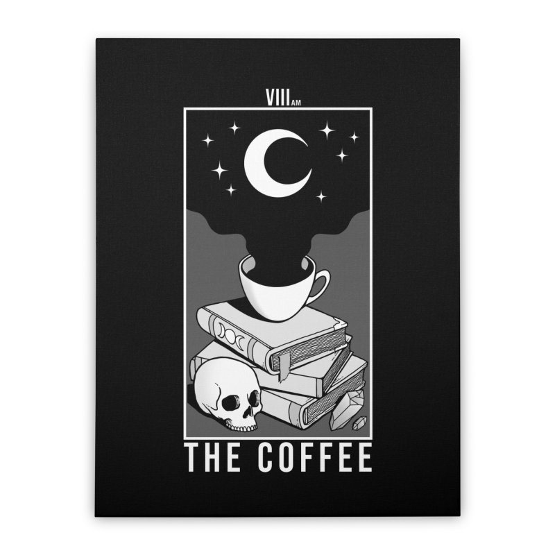 The Coffee Home Stretched Canvas by Deniart's Artist Shop