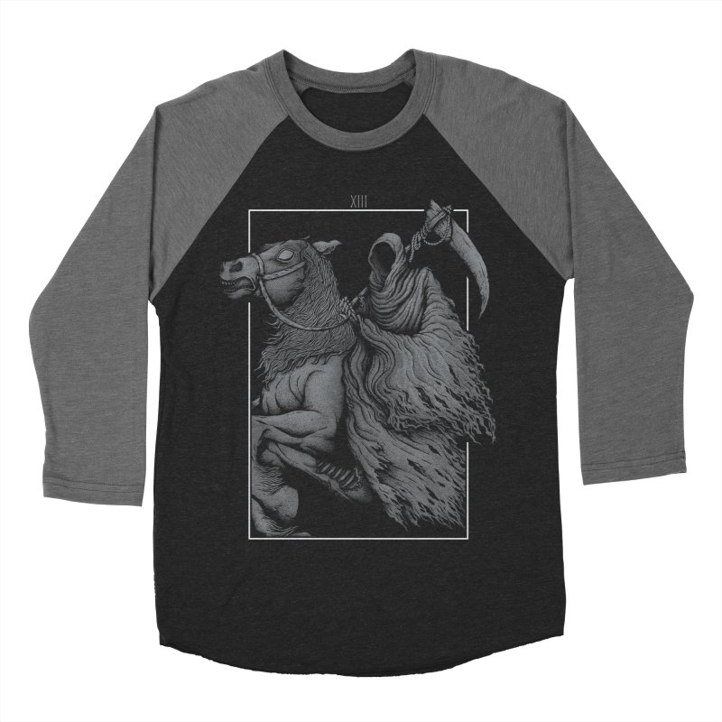 Death Women's Baseball Triblend T-Shirt by Deniart's Artist Shop