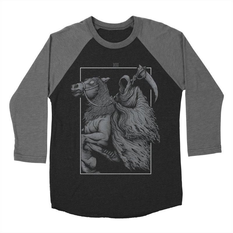 Death Men's Baseball Triblend T-Shirt by Deniart's Artist Shop