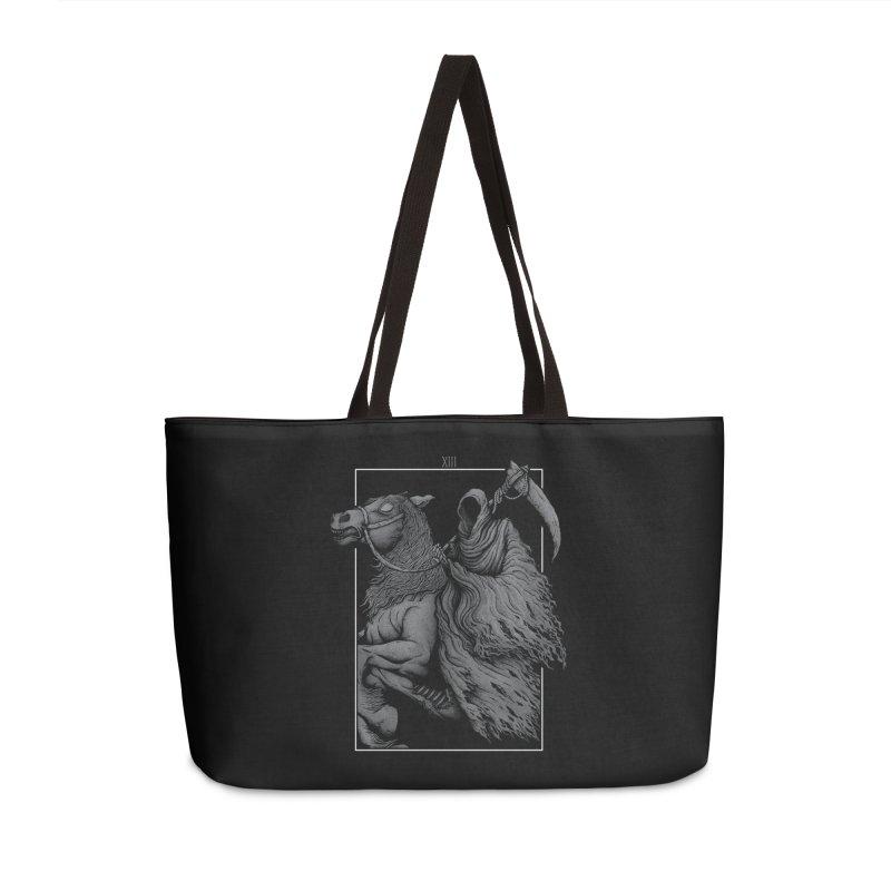 Death Accessories Weekender Bag Bag by Deniart's Artist Shop