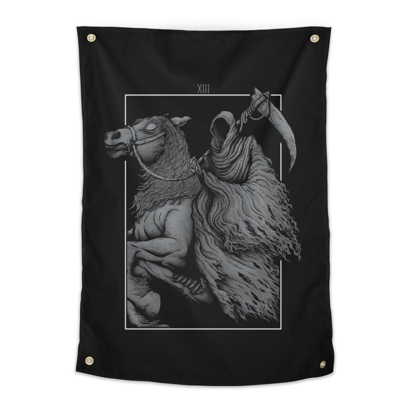 Death Home Tapestry by Deniart's Artist Shop