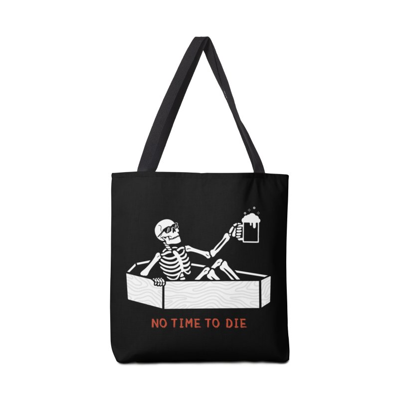 No Time to Die Accessories Tote Bag Bag by Deniart's Artist Shop
