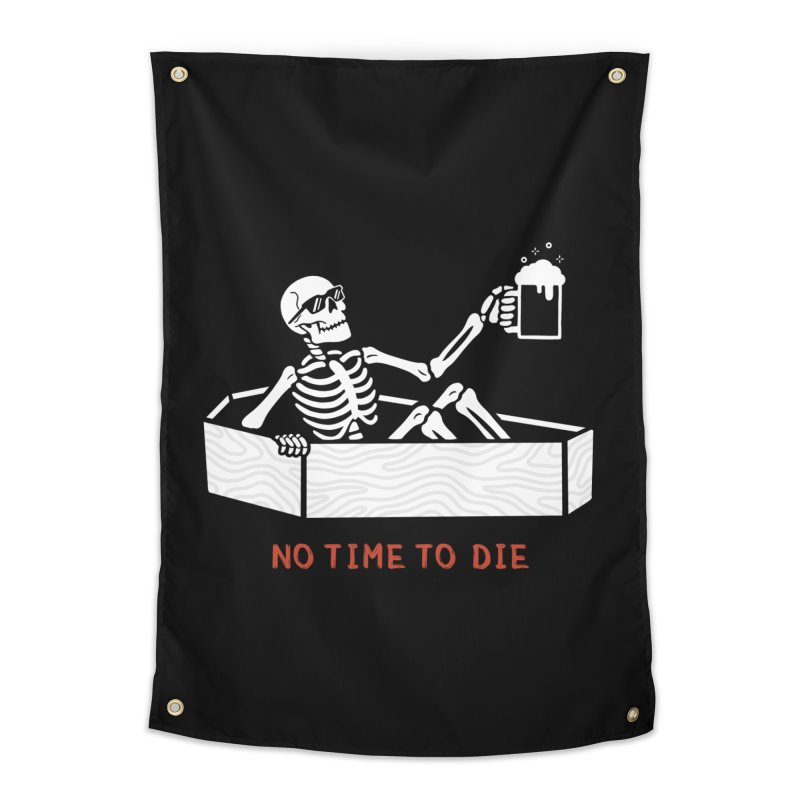 No Time to Die Home Tapestry by Deniart's Artist Shop
