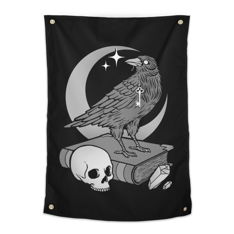 Occult Crow Home Tapestry by Deniart's Artist Shop