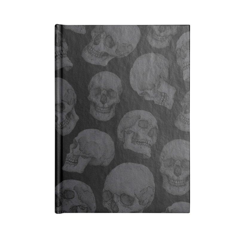 Skulls Accessories Notebook by Deniart's Artist Shop