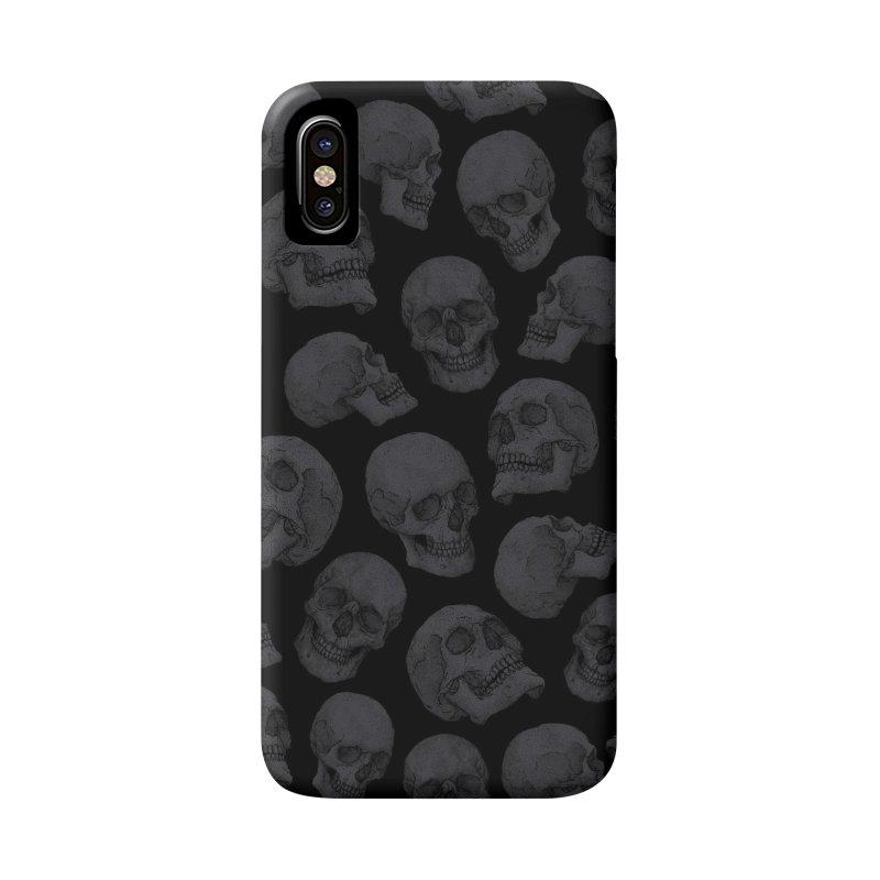 Skulls Accessories Phone Case by Deniart's Artist Shop