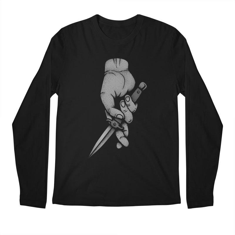 Trust No One Men's Longsleeve T-Shirt by Deniart's Artist Shop