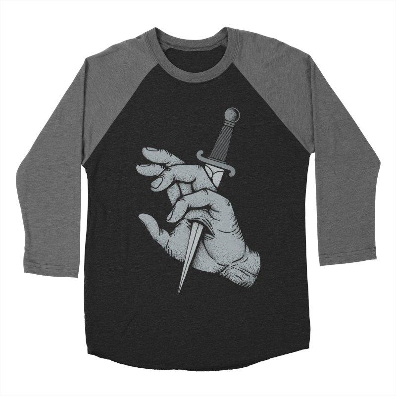 Hands Remember Men's Baseball Triblend T-Shirt by Deniart's Artist Shop