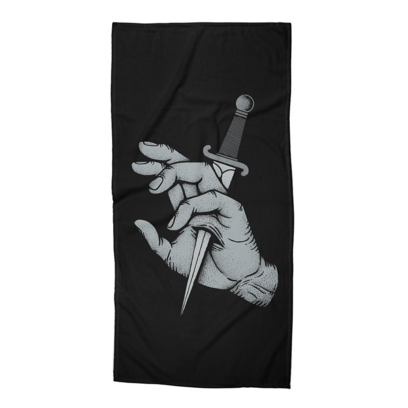 Hands Remember Accessories Beach Towel by Deniart's Artist Shop