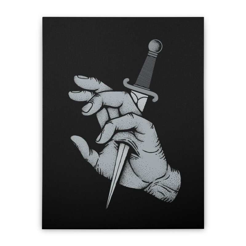 Hands Remember Home Stretched Canvas by Deniart's Artist Shop