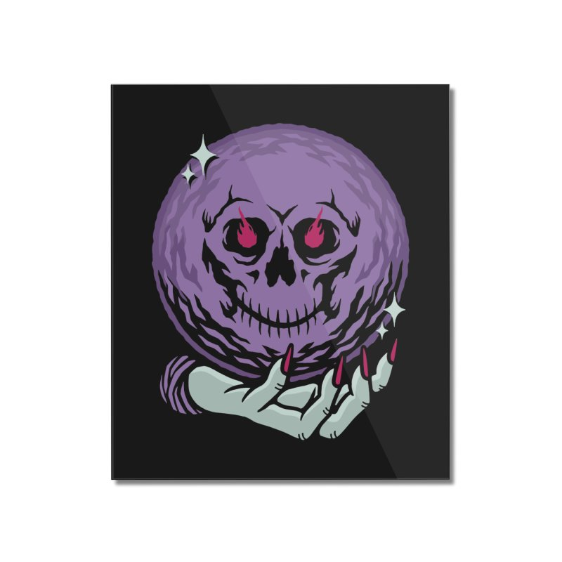 Death Sight Home Mounted Acrylic Print by Deniart's Artist Shop