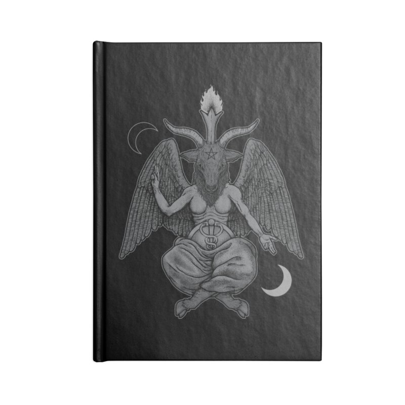 Baphometh Accessories Notebook by Deniart's Artist Shop