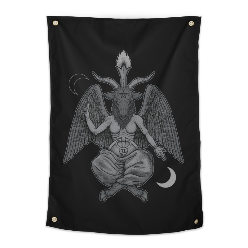 Baphometh Home Tapestry by Deniart's Artist Shop