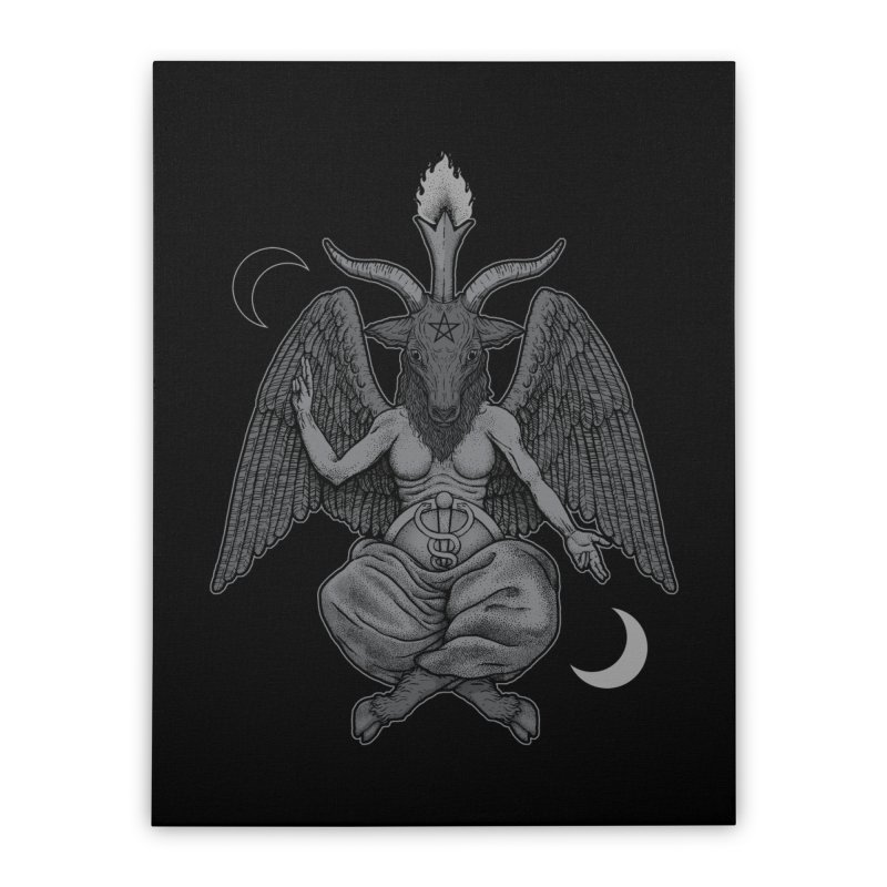 Baphometh Home Stretched Canvas by Deniart's Artist Shop