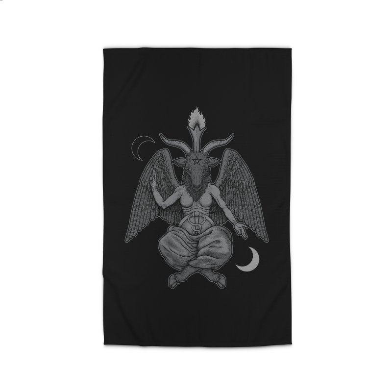 Baphometh Home Rug by Deniart's Artist Shop