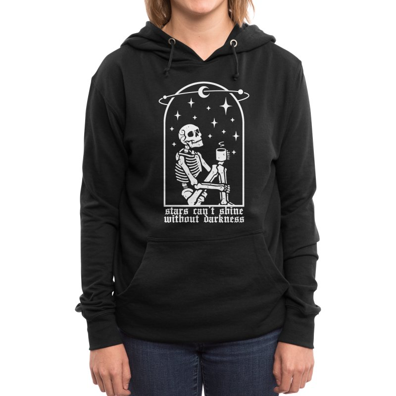 Stars Can't Shine Without Darkness Women's Pullover Hoody by Deniart's Artist Shop