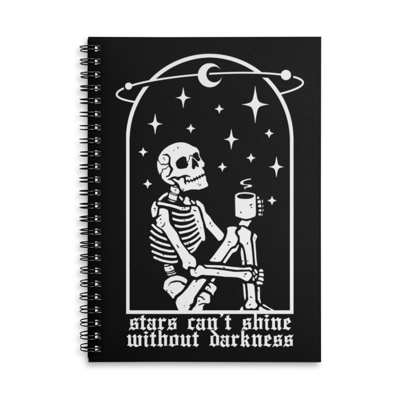 Stars Can't Shine Without Darkness Accessories Notebook by Deniart's Artist Shop