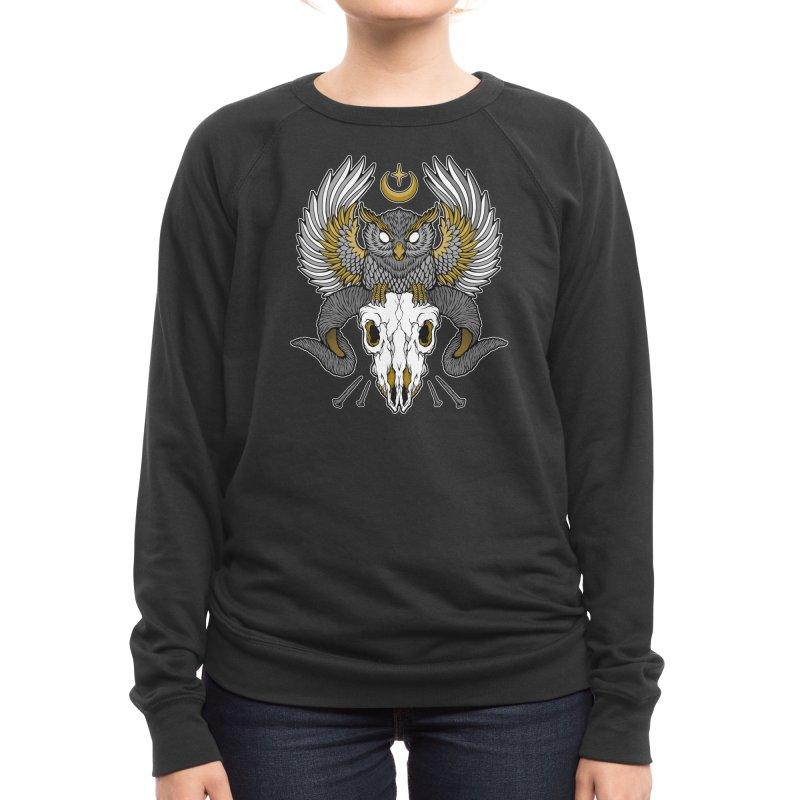 Carpe Noctem Women's Sweatshirt by Deniart's Artist Shop