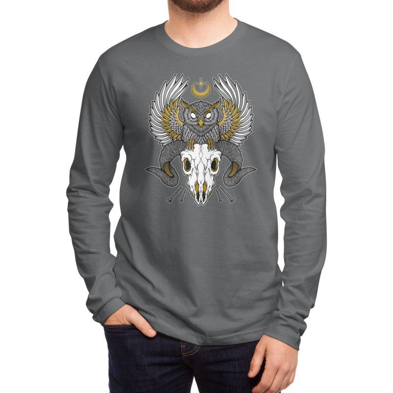 Carpe Noctem Men's Longsleeve T-Shirt by Deniart's Artist Shop