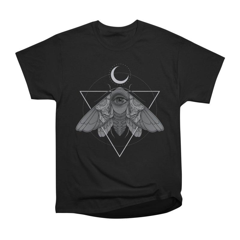 Occult Moth Women's Classic Unisex T-Shirt by Deniart's Artist Shop
