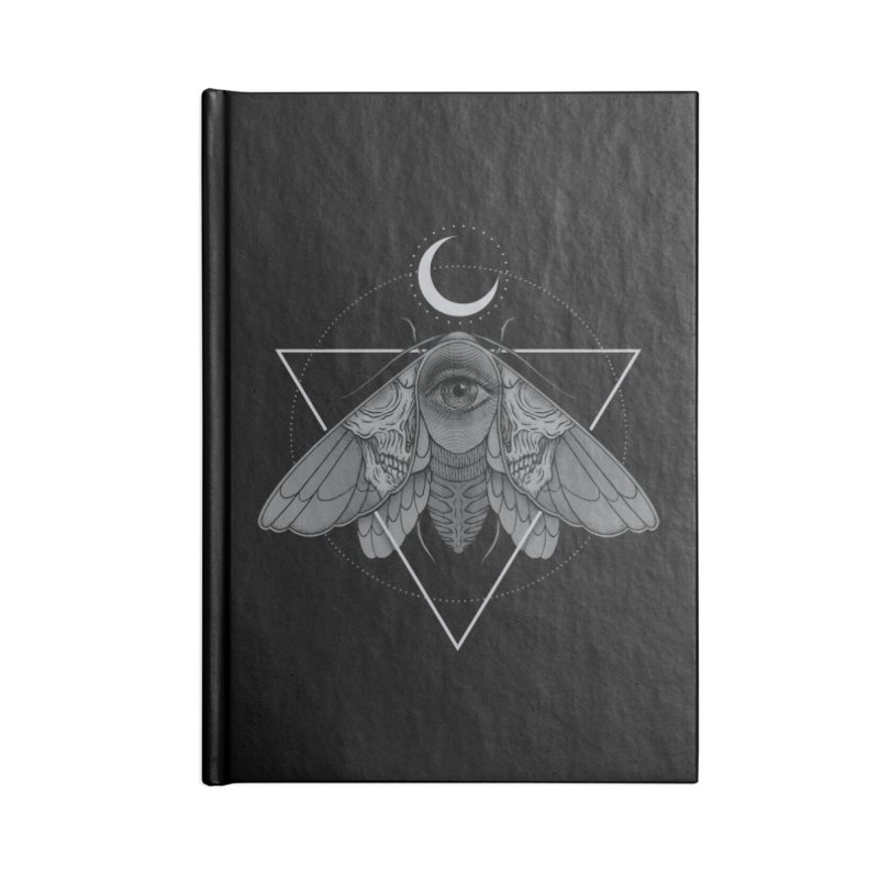 Occult Moth Accessories Notebook by Deniart's Artist Shop