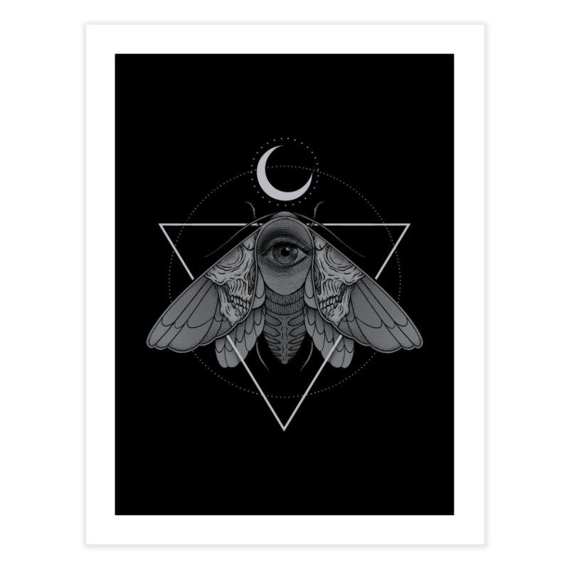 Occult Moth Home Fine Art Print by Deniart's Artist Shop