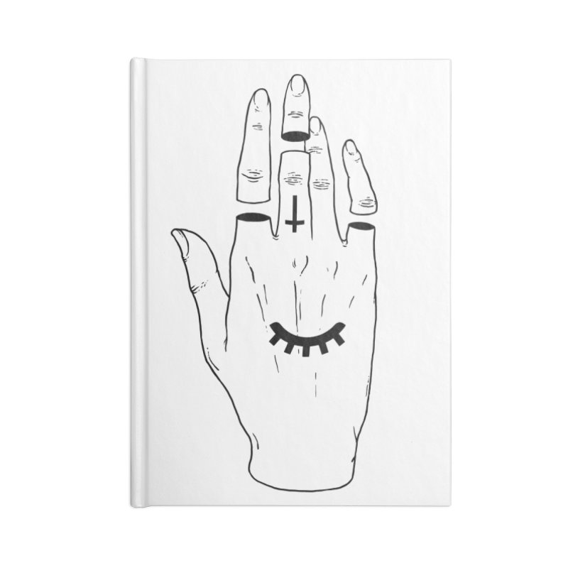 Occult Hand Accessories Notebook by Deniart's Artist Shop