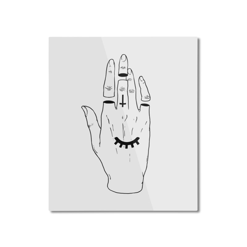 Occult Hand Home Mounted Aluminum Print by Deniart's Artist Shop