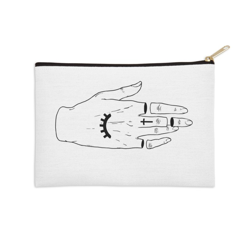 Occult Hand Accessories Zip Pouch by Deniart's Artist Shop