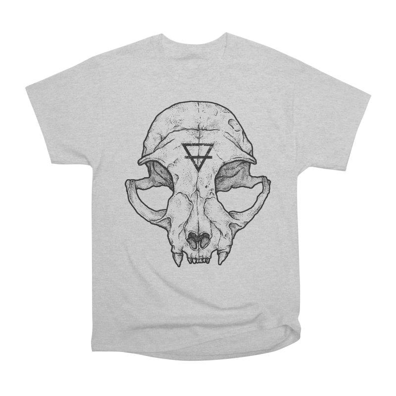 Cat Skull Men's Classic T-Shirt by Deniart's Artist Shop