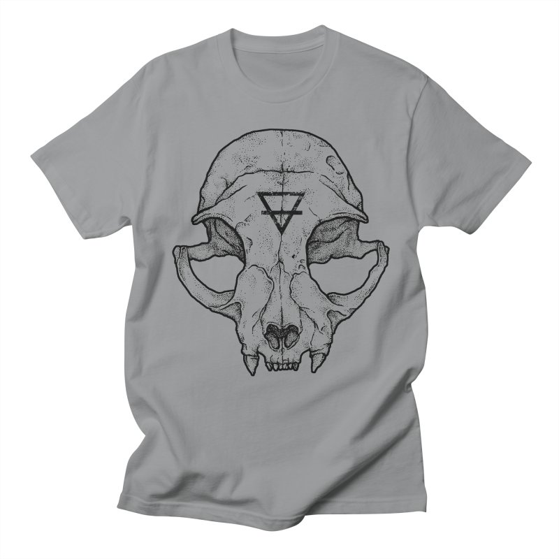 Cat Skull Women's Unisex T-Shirt by Deniart's Artist Shop