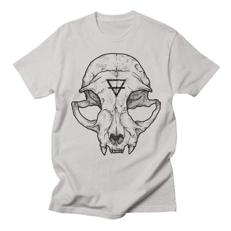 Cat Skull Women's Unisex T-Shirt by Deniart's Artist Shop