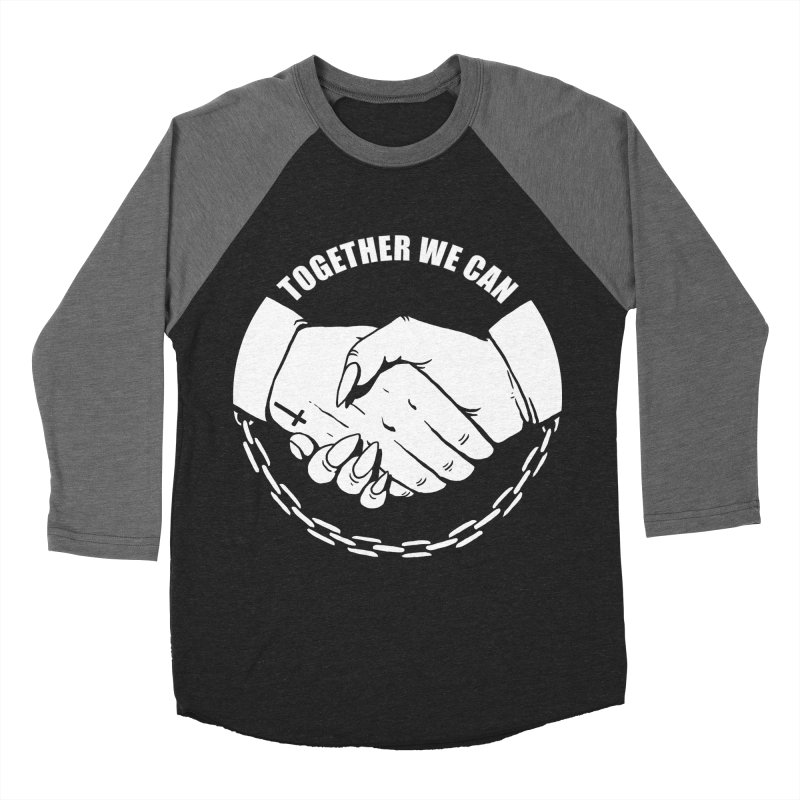 Pact Men's Baseball Triblend T-Shirt by Deniart's Artist Shop