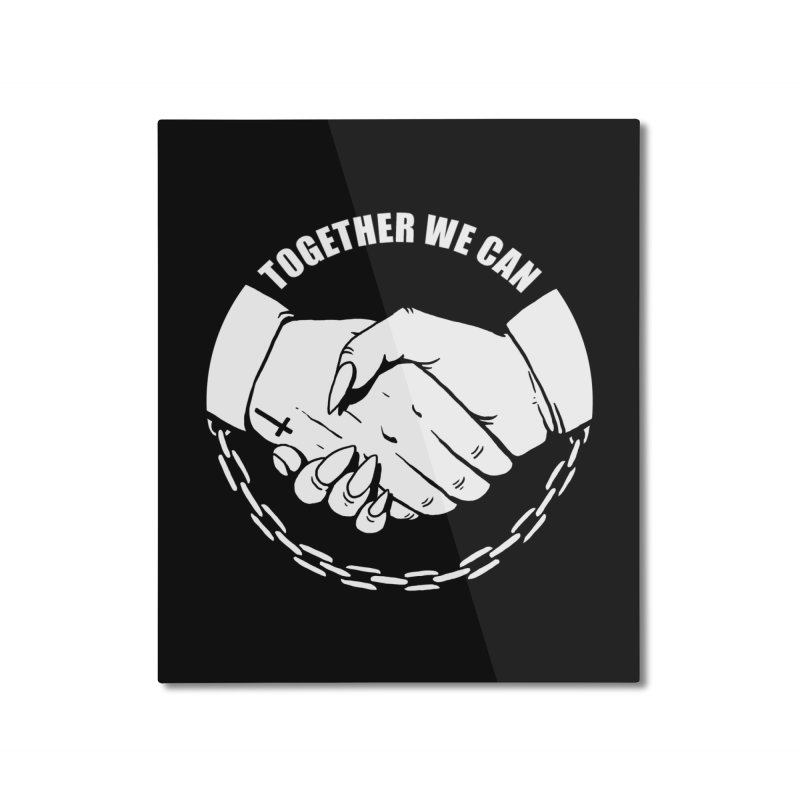 Pact Home Mounted Aluminum Print by Deniart's Artist Shop