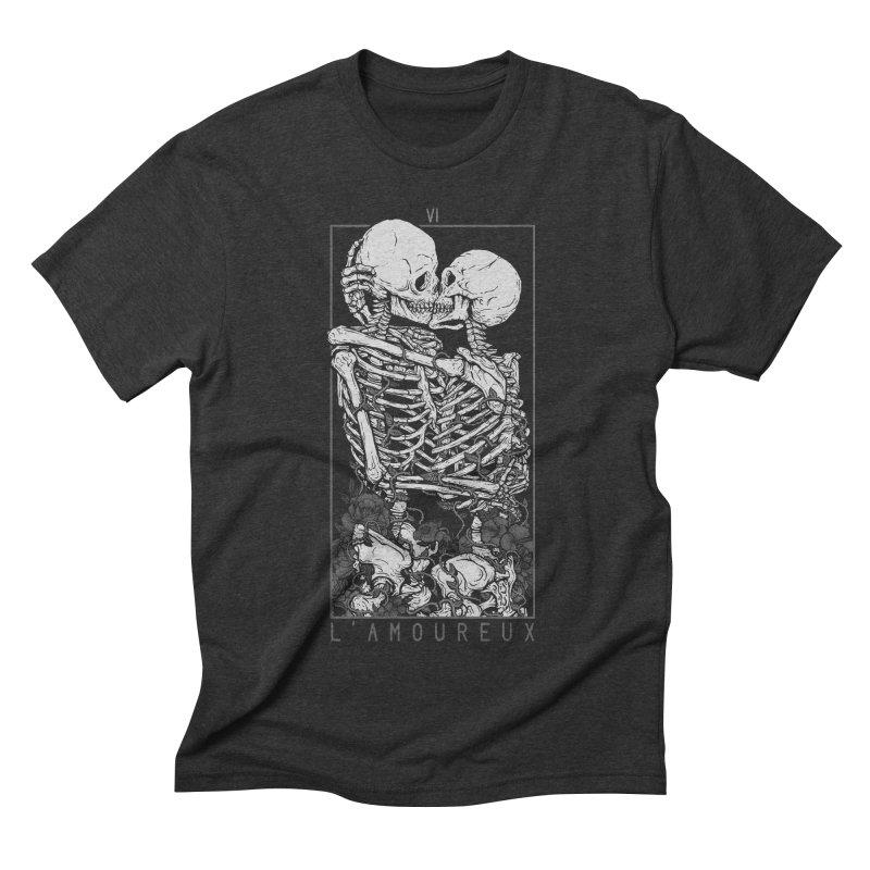The Lovers Men's Triblend T-shirt by Deniart's Artist Shop