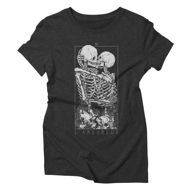 The Lovers Women's Triblend T-shirt by Deniart's Artist Shop