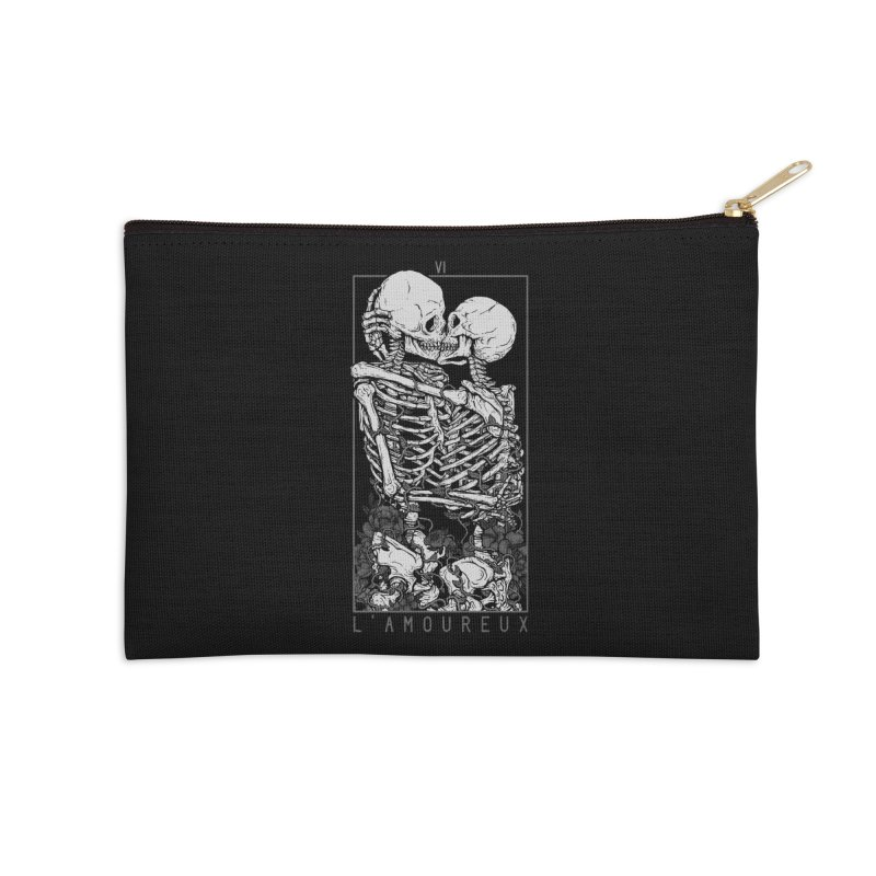 The Lovers Accessories Zip Pouch by Deniart's Artist Shop