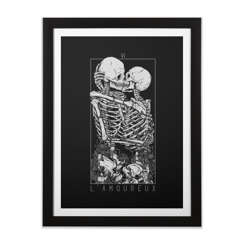 The Lovers Home Framed Fine Art Print by Deniart's Artist Shop
