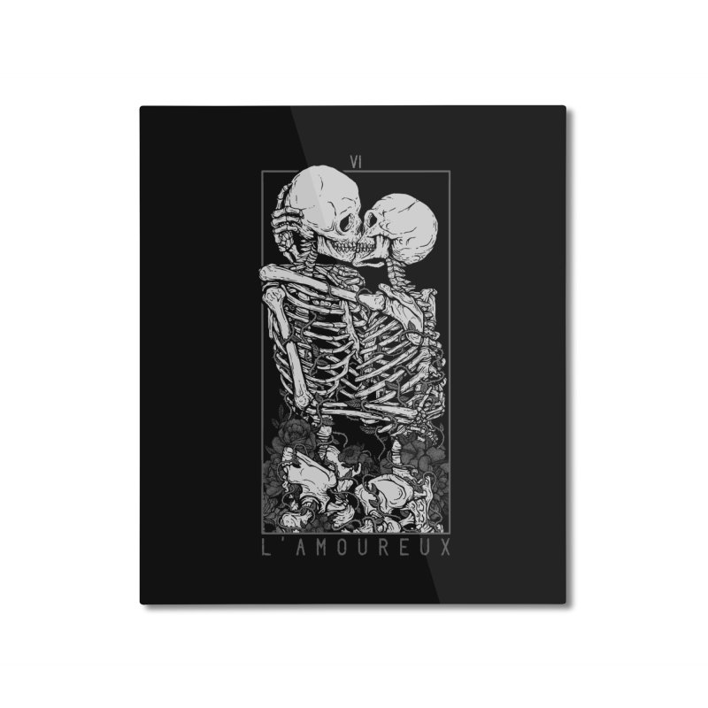 The Lovers Home Mounted Aluminum Print by Deniart's Artist Shop
