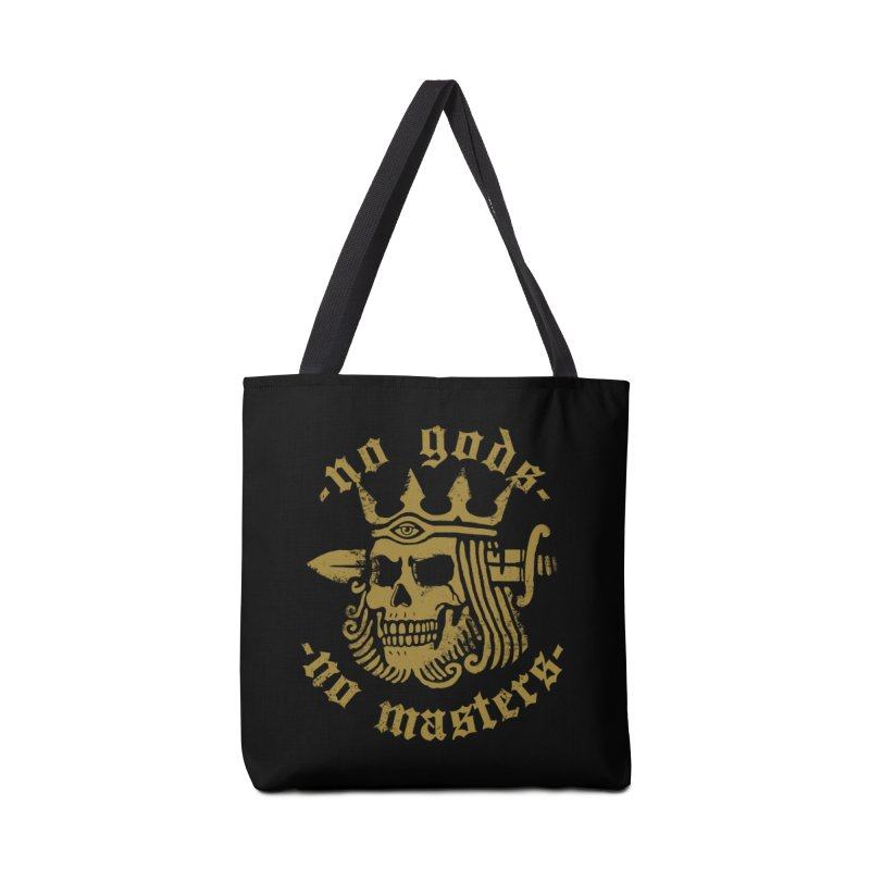 No Gods No Masters Accessories Bag by Deniart's Artist Shop