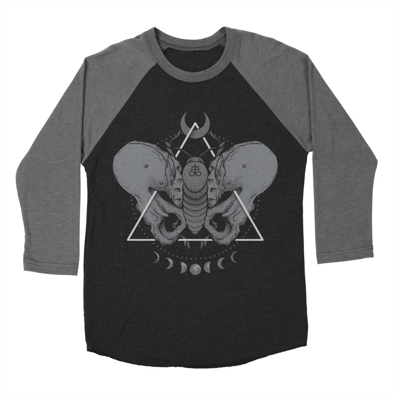 Devir Women's Baseball Triblend T-Shirt by Deniart's Artist Shop
