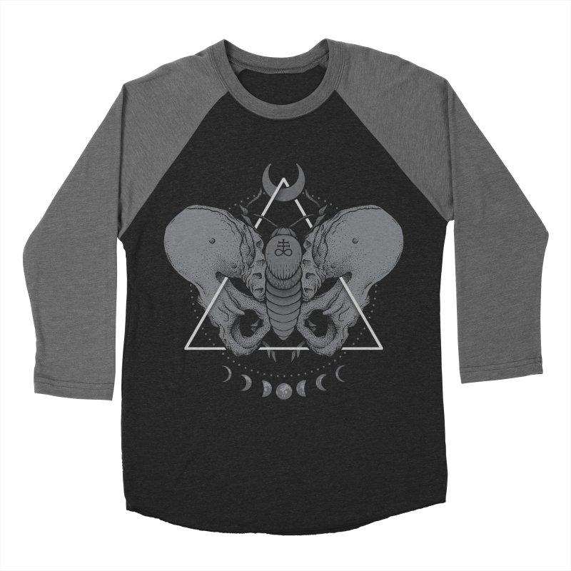 Devir Men's Baseball Triblend T-Shirt by Deniart's Artist Shop