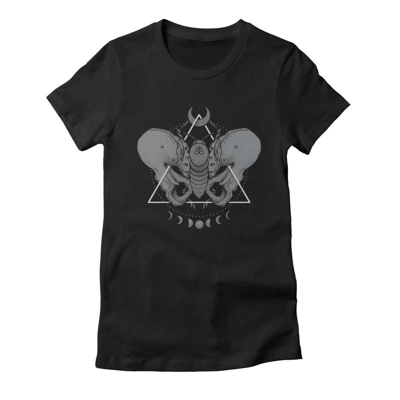 Devir Women's Fitted T-Shirt by Deniart's Artist Shop