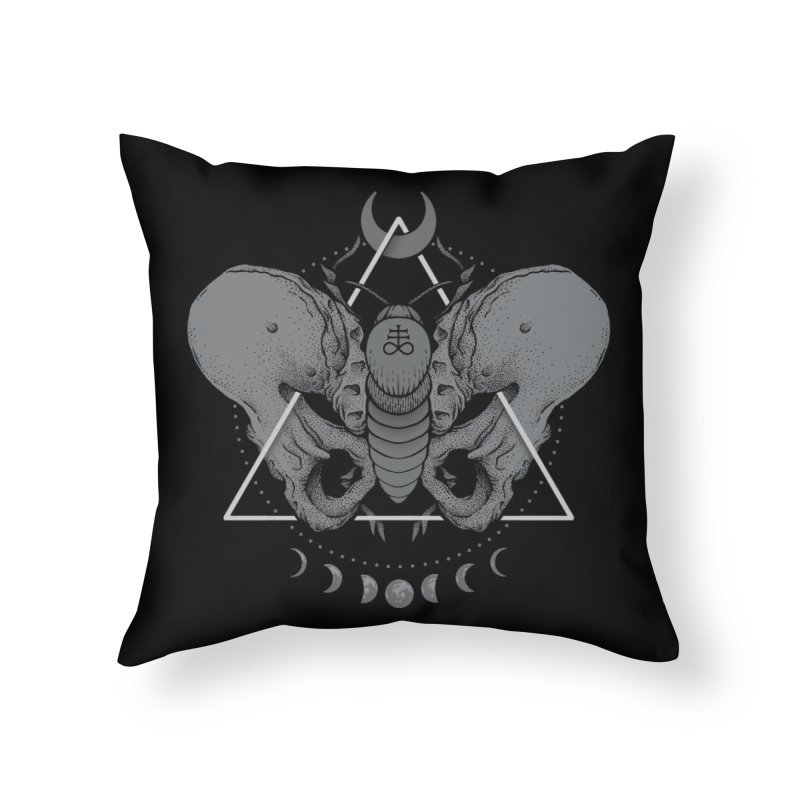 Devir Home Throw Pillow by Deniart's Artist Shop